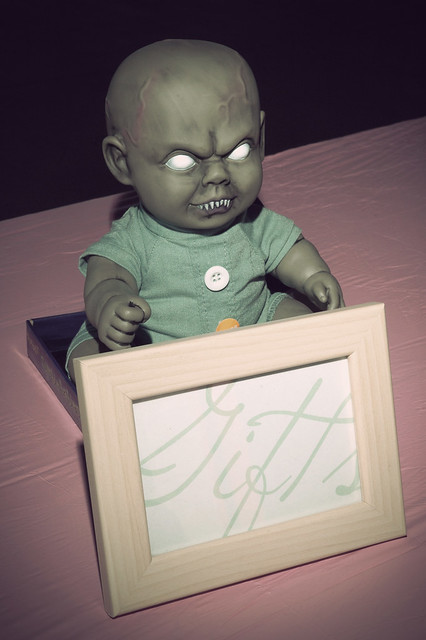 Wiggling Zombie Baby
