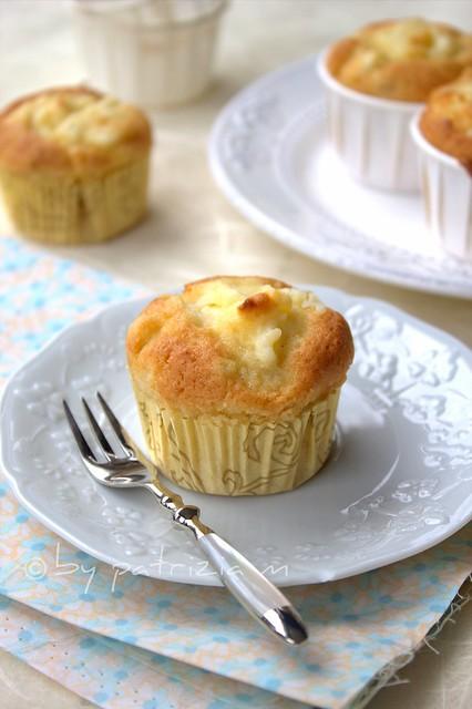 Muffins   alle pere cremosi