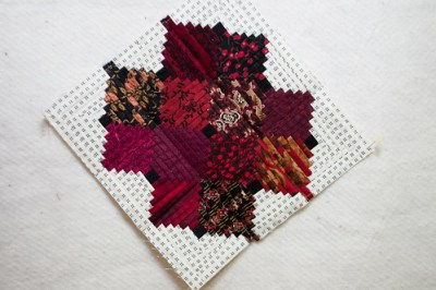 Mini size foundation paper piecing