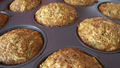 Carrot Zucchini Muffins