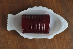"""""""canned"""" homemade cranberry sauce"""