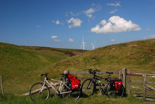 Bikes and turbines