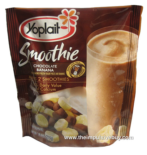 Yoplait Chocolate Banana Smoothie
