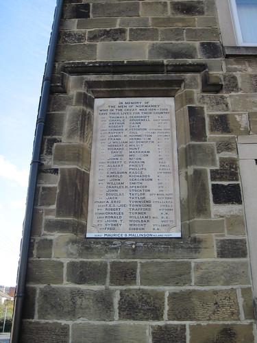 Normanby War Memorial