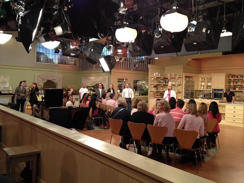 Martha Stewart Show taping
