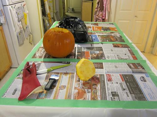 Pumpkin Gutting