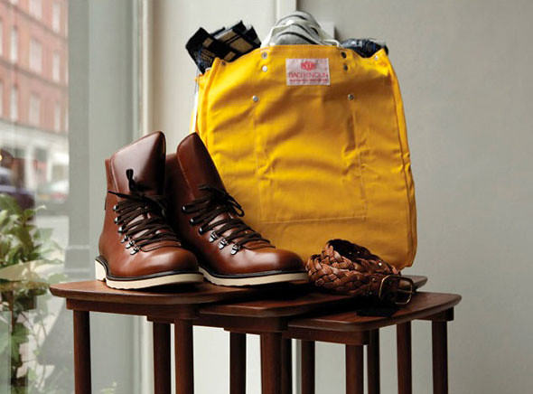 trunk-clothiers-marylebone-mats-klingberg-yellow-bag