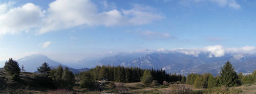 view of Altissimo - Alpi di Ledro from Le Prese