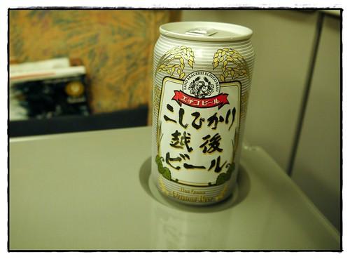 niigata local beer