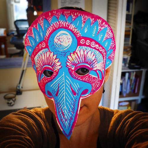 Strange Bird mask