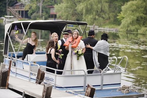 wedding on a boat?