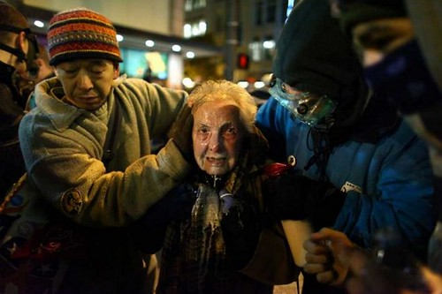 84-year old pepper sprayed - large