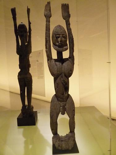 Dogon exhibit