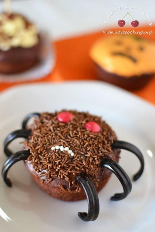 Cupcake ragno