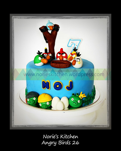 Norie's Kitchen - Angry Birds Cake 26 by Norie's Kitchen
