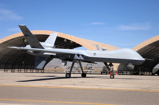 MQ-9 Reaper. United States Air Force photo by Senior Airman Larry E. Reid Jr.