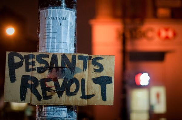 302/365 - Pesants (sic) Revolt, Manhattan Avenue, Greenpoint.