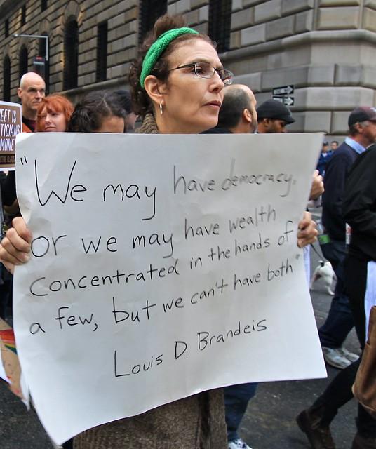 Occupy Wall Street, New York, États-Unis