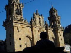 Cunqueiro mira á catedral de Mondoñedo
