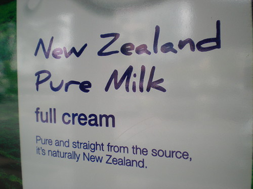 NZ milk advert