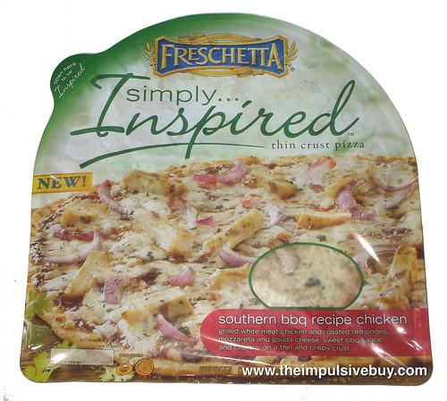 Freschetta Simply Inspired Southern BBQ Recipe Chicken Pizza