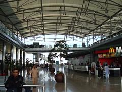 Rajiv Gandhi International Airport: interior view