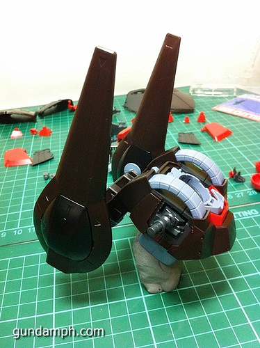 MG Rick Dias Quattro Custom RED Review OOB Build (23)