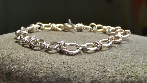 Argentium Sterling Silver Bracelet by WETCLOUD