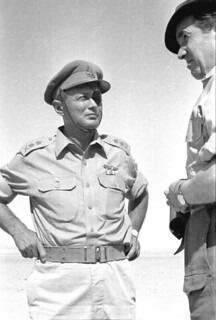 Lt. Gen. Moshe Dayan During Briefing