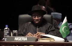 Goodluck Jonathan at CHOGM 2011