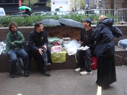 OWS People's Library, November 16th, 2011