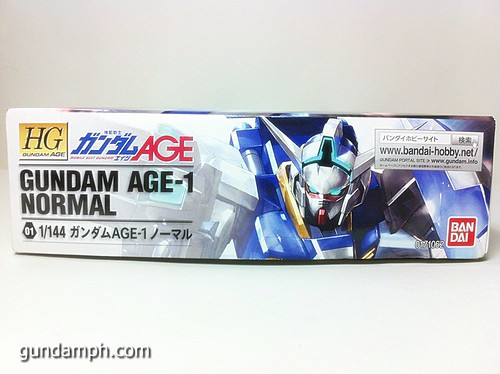 1 144 HG Gundam AGE-1 Normal Review OOB Build  (5)
