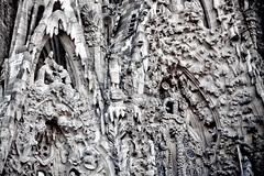 Sagrada Familia - Détail de la façade