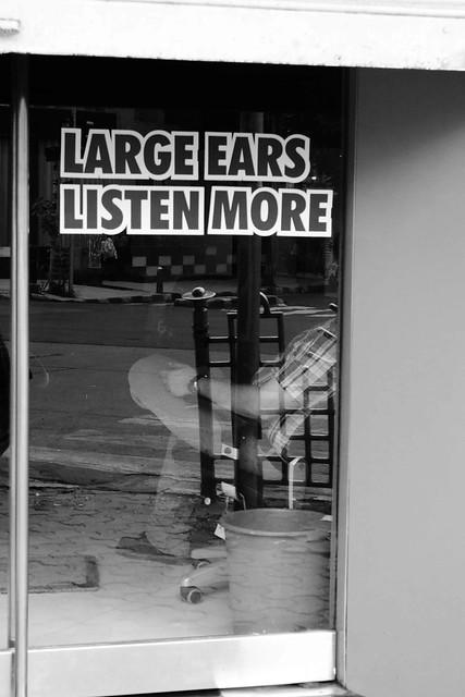 Large Ears Listen More