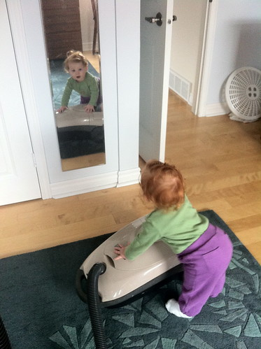 Helping with the housework