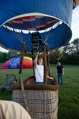pumping heat into the balloon