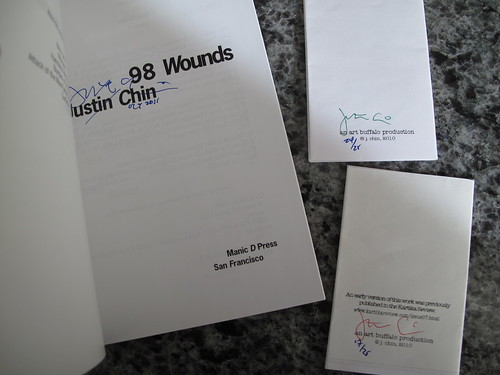 98 Wounds + poems, signed