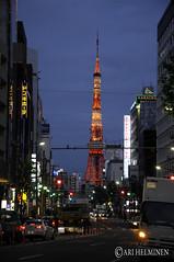 Tokyo Tower, Roppongi Hills 六本木ヒルズ