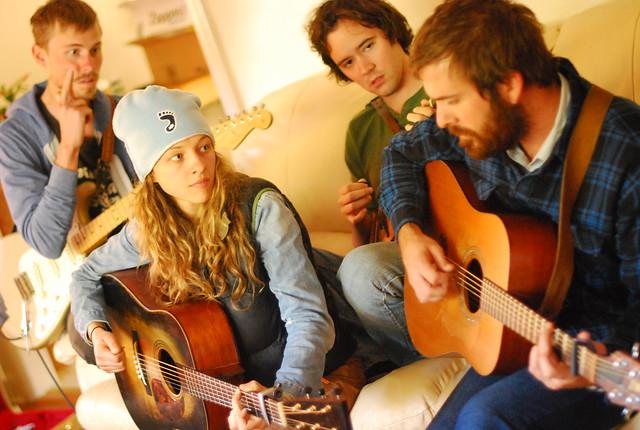 bottom string session: josh oliver w/ mandolin orange