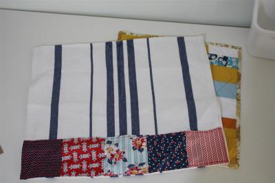 DS Quilt swap received...