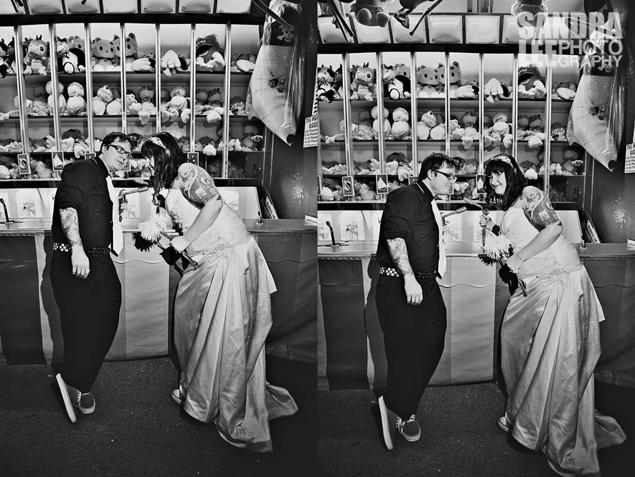Bob + Jen :: Bridal Session at the Fair