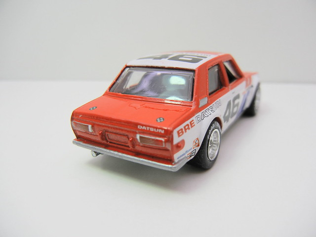 HOT WHEELS VINTAGE RACING JOHN MORTON'S BRE DATSUN BLUEBIRD 510 (5)