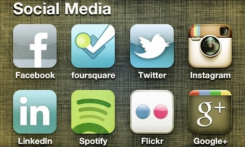 Social Media Icons by brantleydavidson, on Flickr