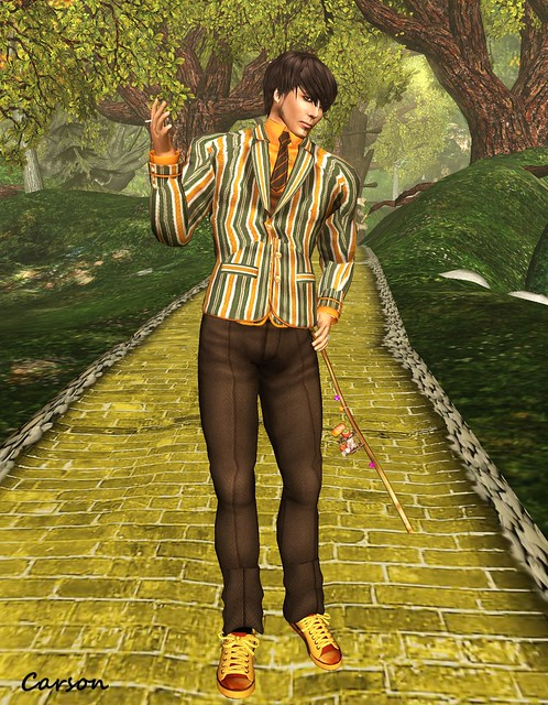 Dimbula  Rose - Munchkin Outfit, Amato Cigarette & Cane, IHS Autumn Sneakers