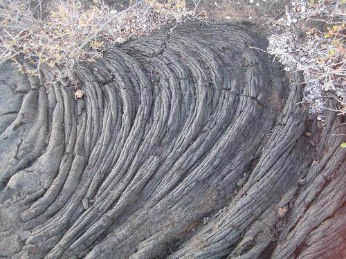 Pliegues de lava
