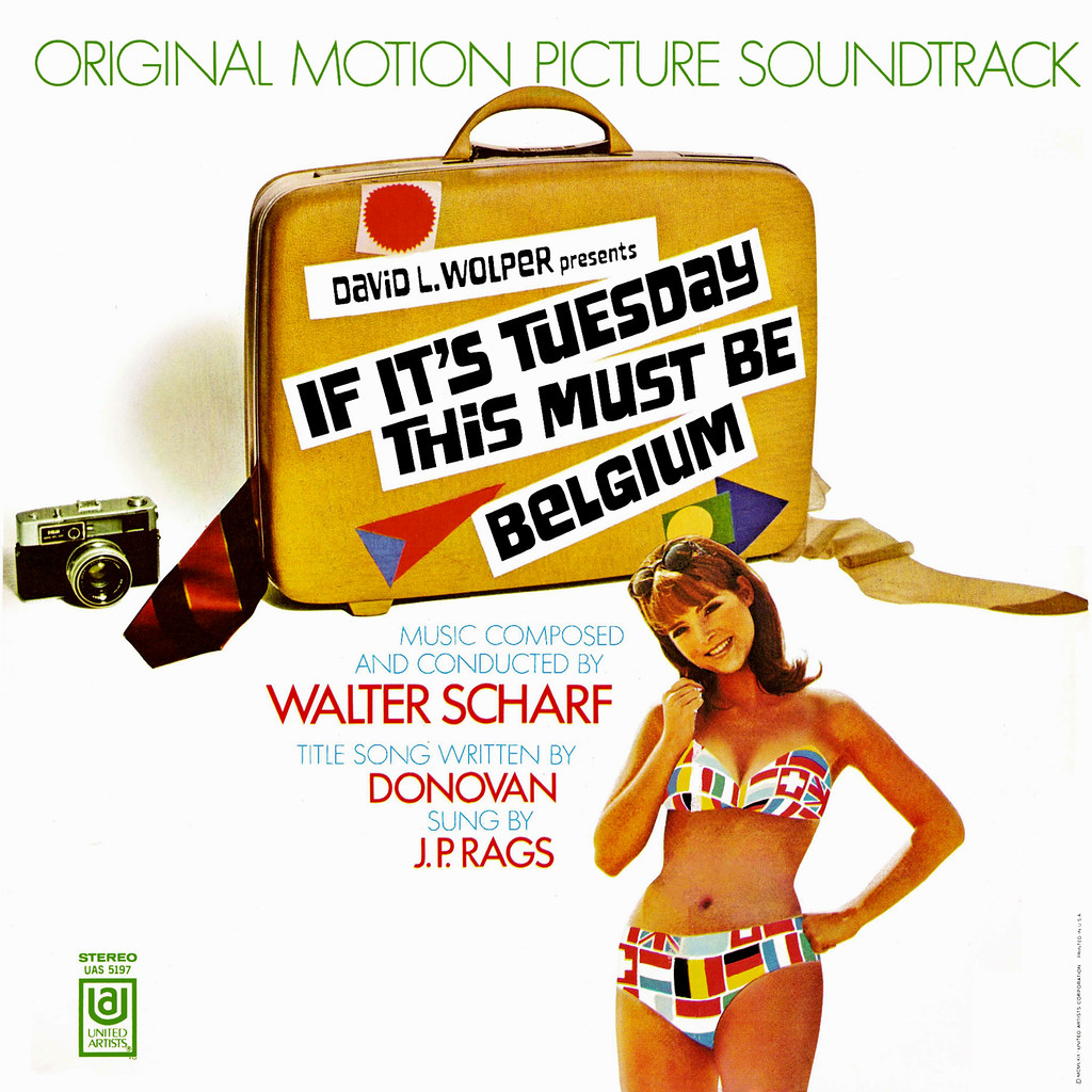 Walter Scharf - If It's Tuesday, This Must Be Belgium