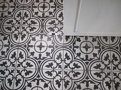 Floor tiles, Othello's Cafe Bar, Greenwood Avenue
