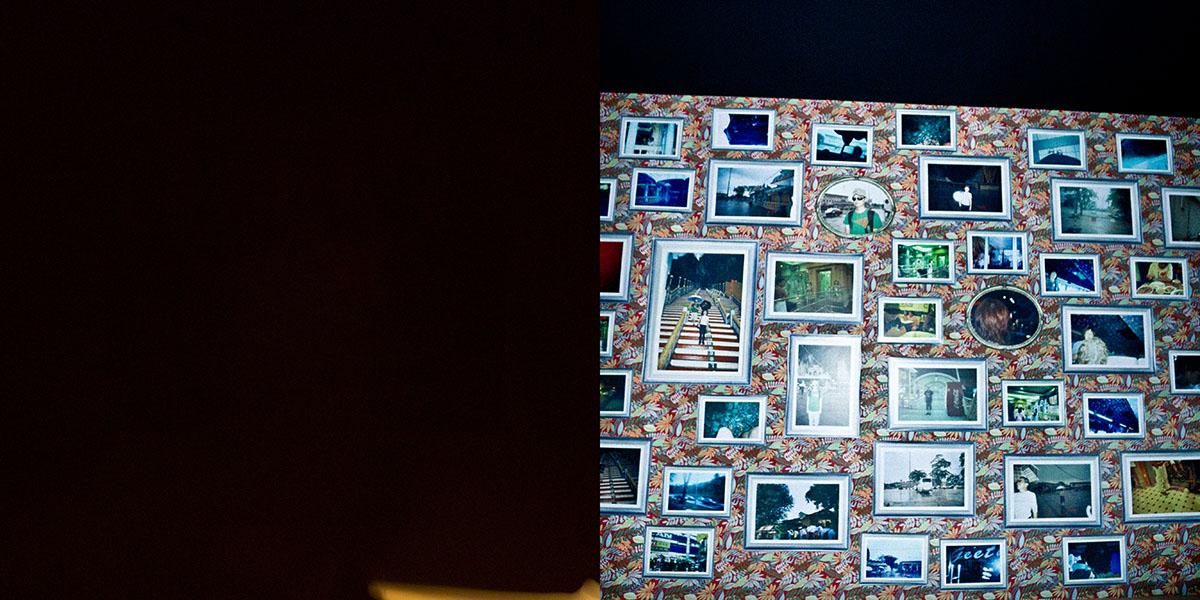 A la izquierda lo que vimos, a la derecha lo que salió en la foto (MUICO)