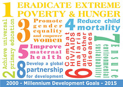 Millennium Development Goals Postcards