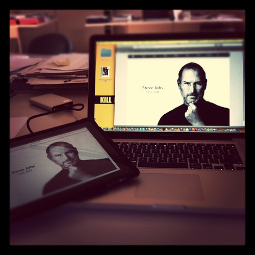 #igerspiceni #mattina #steve #jobs #goodbye by darioquattro